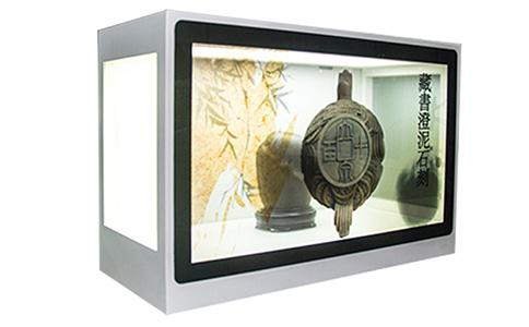 文物透明屏展示柜